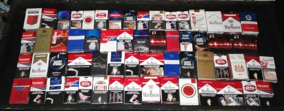 60 Cajitas De Cigarrillos Box ( Lote )