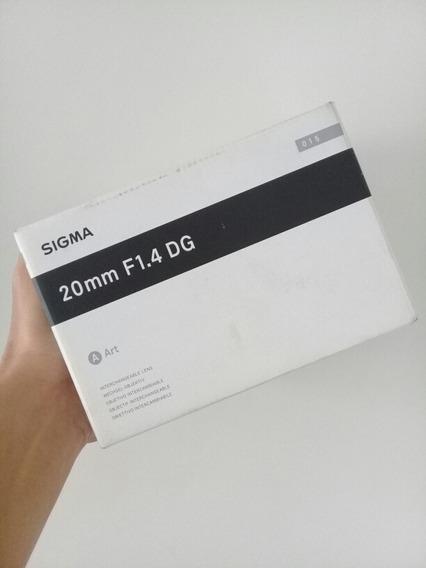 Sigma Dg 20mm F 1.4 Art Hsm Para Nikon