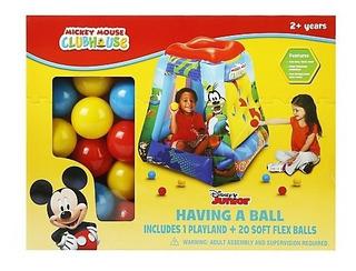 Juego Inflable Mickey 15 Pelotas Disney