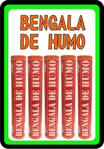 Bengala De Humo Naranja Fiestas Festejos Eventos Envios