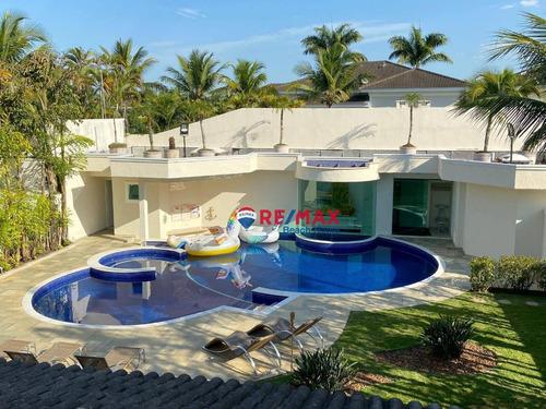 Casa À Venda, 800 M² Por R$ 3.900.000,00 - Acapulco - Guarujá/sp - Ca0210