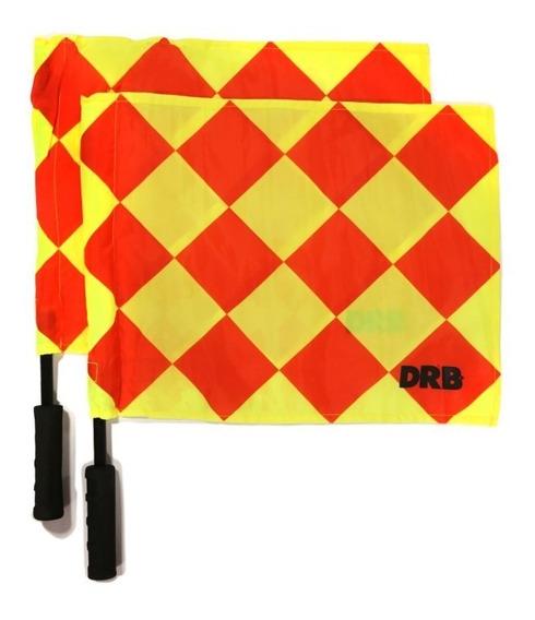 Banderines Para Arbitro Drb Pack X2 En Gol De Oro