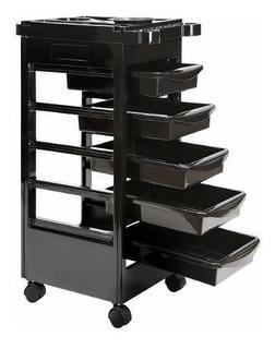 Carrito Auxiliar Estetica Salon Mueble Servicio Spa Peluquer