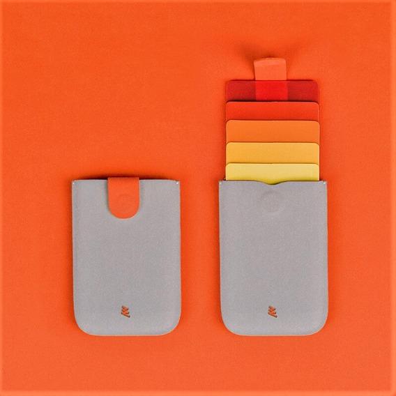 Porta Tarjetas Tarjetero Dax V2 Cartera Diseño Minimalista