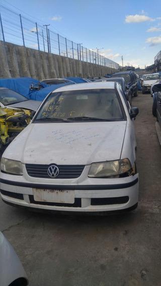 Volkswagen Gol 1.0 2001 Sucata Para Peças