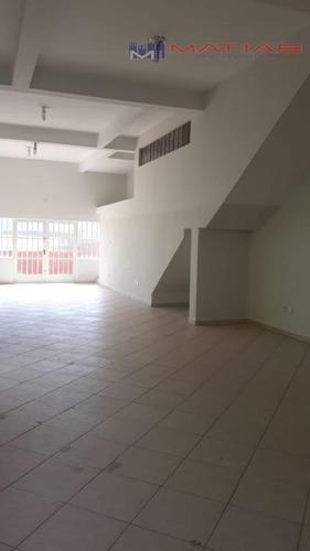 Salão Para Alugar, 182 M² Por R$ 3.200,00/mês - Vila Formosa - São Paulo/sp - Sl0076