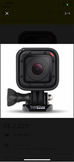Camera Gopro Hero5 Session