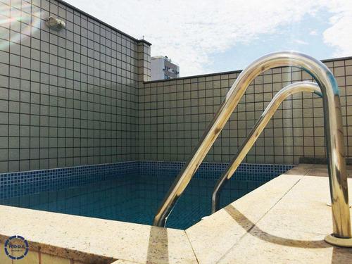 Casa Com Piscina Em Santos! - V6007
