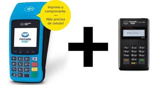 Maquininha Cartão Mercado Pago Point Pro Wi-fi Chip + Mini