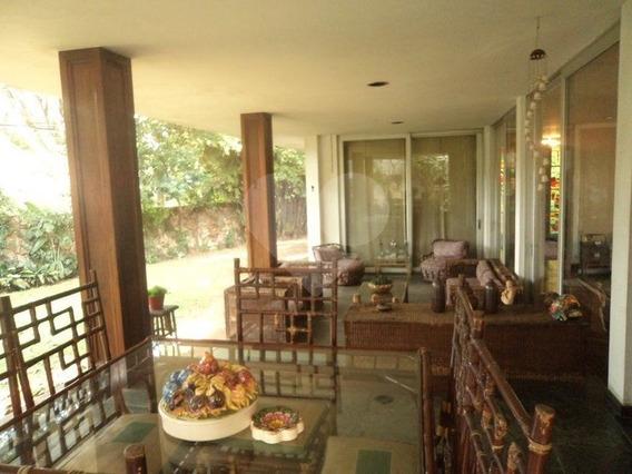 5 Dormitórios Enormes,3sts/6vgs/jardins Em Torno Da Casa,rua Super Tranquila Próx. Pça Panamericana - 345-im87113
