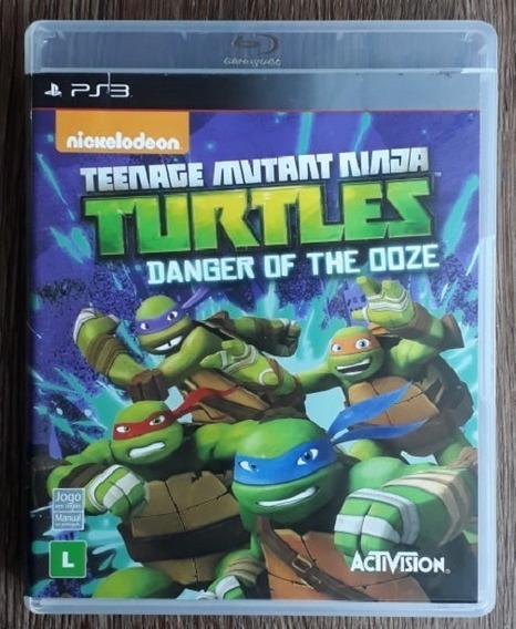 Teenage Mutant Ninja Turtles: Danger Of The Ooze - Ps3