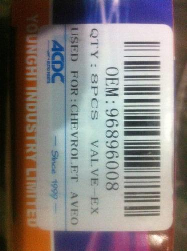 Valvula Admision Aveo 96440079 C/u