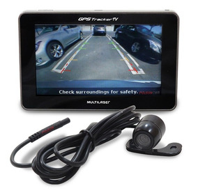 Navegador Gps Tracker Tv Digital C/ Camera De Re Multilaser