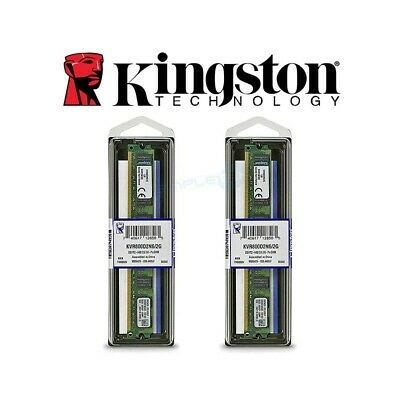 Kit Memórias Kingston 2gb Ddr2 800mhz 2 Pentes 4gb Semi Novo