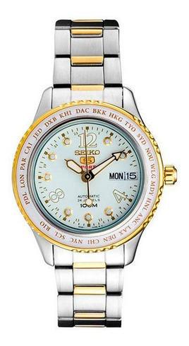 Reloj Seiko Srp368k1 Para Dama Ext De Acero