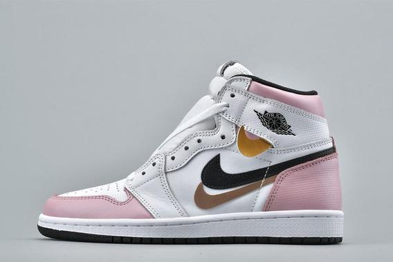 Tênis Nike Air Jordan 1 Retro Misplaced Checks Original Top