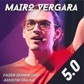 Inglês Mairo Vergara 5.0 C/ 7 Módulos + Versão 4.0 + Brindes