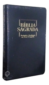 Bíblia Sagrada Rano Gigante Luxo Preta