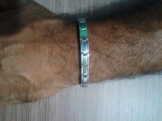 Pulseira Bracelete Unisex Aço Frete Gratis