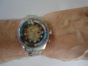 Relógio Orient Kd Automático Antigo Degrade Ótimo
