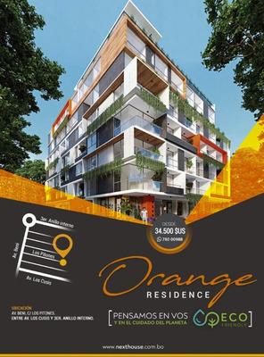 Dpto. En Pre-venta De 1 Dormitorio, En Condominio Orange