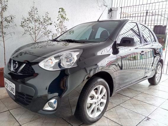 Nissan March 1.6 16v Sv 5p 2018 Completo Pouca Km, Ipva Pago