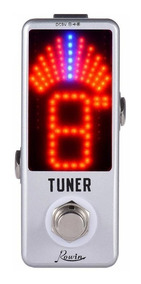 Pedal Afinador Tuner Rowin P/ Guitarra E Baixo Elréticos
