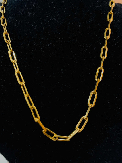 Correntinha De Ouro , Cordão Banhao A Ouro Cartier