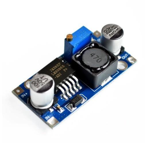10x Regulador De Tensão Lm2596 Conversor Dc-dc Step Down