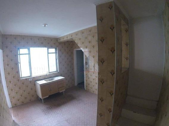 Casa Com 1 Dormitório Para Alugar, 70 M² Por R$ 550/mês - Jardim Zaira - Mauá/sp - Ca0155