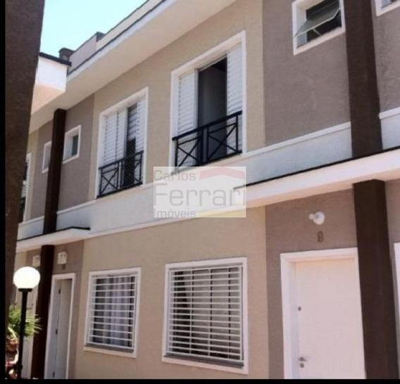 Casa Em Condomínio Com 2 Suítes, 2 Vagas - Cf25189