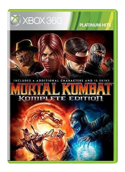 Mortal Kombat Komplete Edition Xbox 360 Midia Fisica