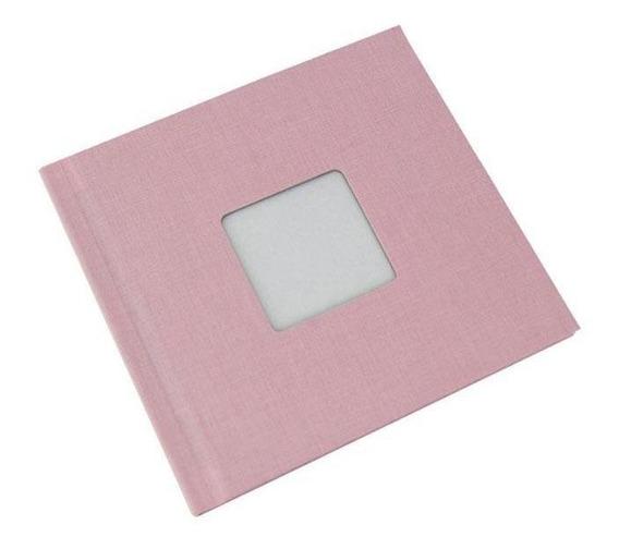 Photobook Kodak Album Auto Adesivo Janela 15x15 - Rosa