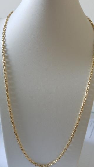 Corrente Masculina 60cm Ouro Amarelo 18k 750
