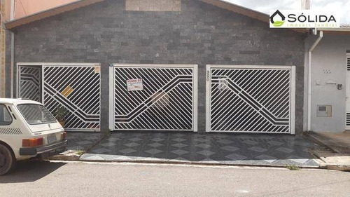 Imagem 1 de 23 de Excelente Casa A Venda - Bairro Jardim América - Campo Limpo Paulista - Sp - Ca0483