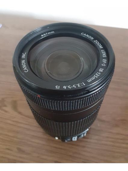 Lente Ef-s Canon 18-135 Mm F/3.5 - 5.6