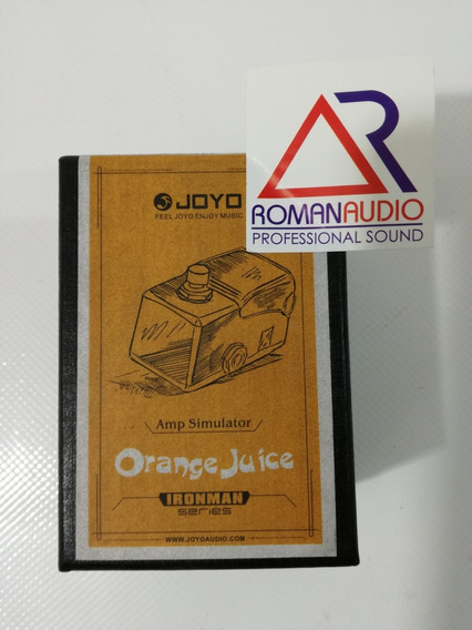 Pedal Joyo Efecto Orange Juice Para Guitarra Electrica