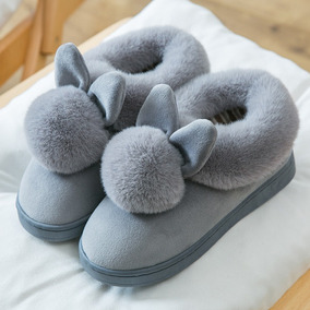 Zapatos Algodón Mujeres Zapatos Damas Dormitorio Resbalón