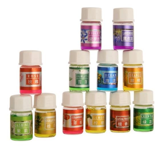 12 Esencias Aromáticas Para Difuso Humidificador Concentrada