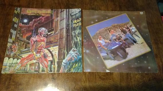 Iron Maiden A Tiempo En Algun Lugar Vinilo Disco Maxi