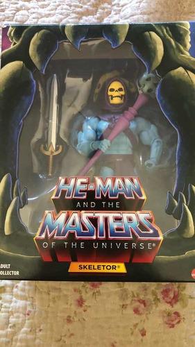 Skeletor Filmation 2.0 Mattel He-man Classics Nuevo Impecabl