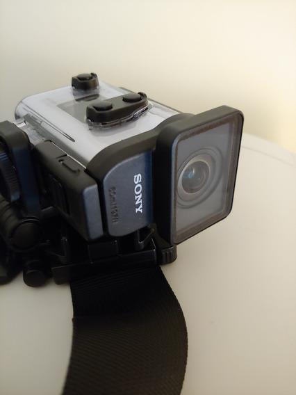 Câmera Sony Action Cam Fdr X3000 Lente Zeiss