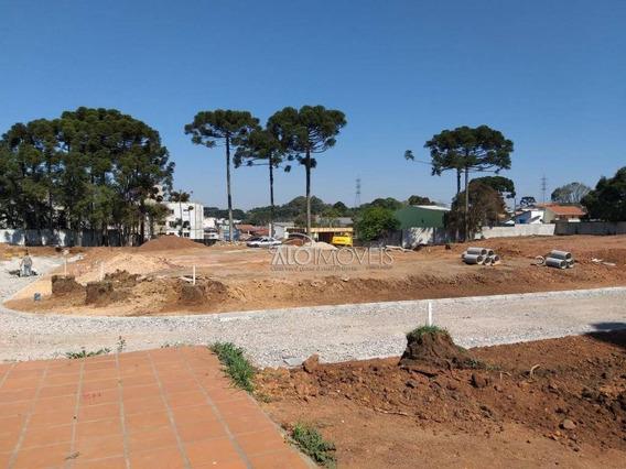 Terreno À Venda, 127 M² Por R$ 185.921,37 - Pinheirinho - Curitiba/pr - Te0122