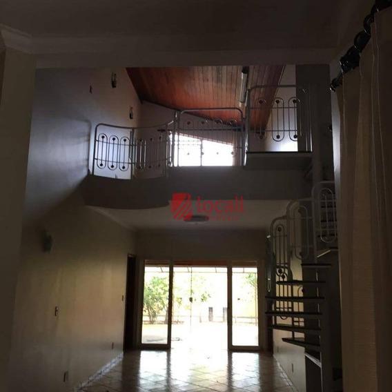 Casa Com 3 Dormitórios Venda E Locação - Parque Residencial Damha - São José Do Rio Preto/sp - Ca1483