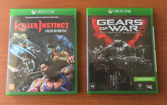 Gears Of War Ultimate Edition + Killer Instinct - Xbox One