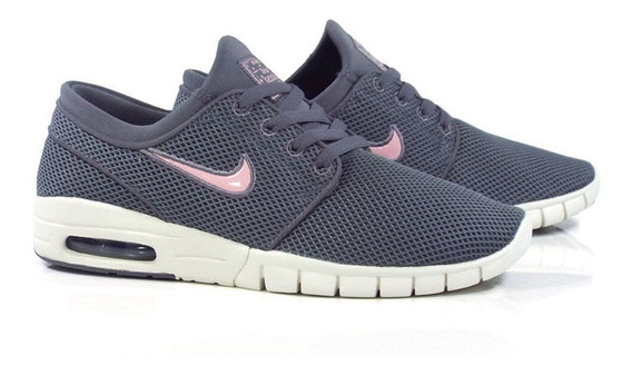 Zapatillas Nike Sb Stefan Janoski Max Gray / Pink Nro 42,5