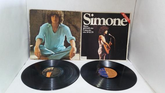 Lps Simone / Lote Com 12 Discos (fotos) Por Apenas...