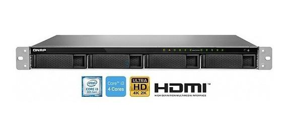 Servidor De Dados Nas Rack 1u I3-8100 Quad- Core 3.6 Ghz 4gb