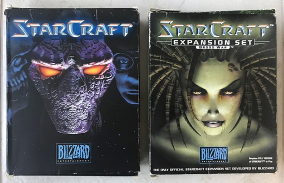 Starcraft + Broodwar Big Box ( Americano )