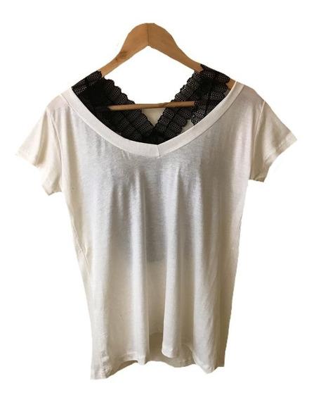 Blusa T Shrt Camiseta Decotada Feminina Podrinha M G Gg